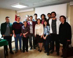 """Topluluk olarak Müyesser Yıldız ve Hanefi Avcı'nın konuşmacı olduğu """"OdaTv Davası"""" söyleşisine katılım sağladık."""