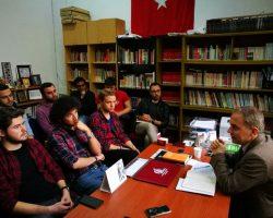 """""""Örgüt ve Örgütçülük"""" başlıklı oda toplantımızı ADD GYK Üyesi Öner Tanık'ın katılımı ile gerçekleştirdik."""