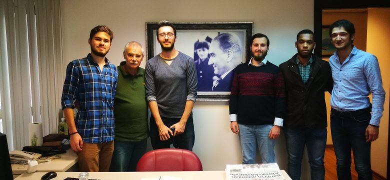 ODTÜ ADT Olarak Cumhuriyet Gazetesini Ziyaret Ettik