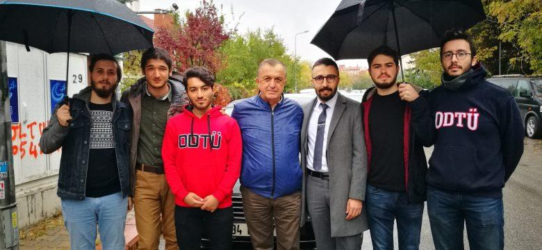 Ahmet Taner Kışlalı'nın katledilişinin 19. yılında evinin önündeki ve anıttaki anmadaydık.