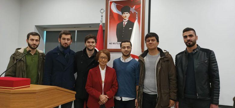 """""""Türkiye'de Ulusal Belleğin Oluşmasında ve Kültür Mirasının Korunmasında Kadının Rolü"""" adlı konferansa katıldık"""