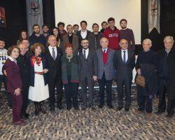 Atatürk'ün Ankara'ya gelişinin 100.yılı dolayısıyla ODTÜ Mezunlar Derneği'nin düzenlediği Atatürk heykeli açılışına katıldık.